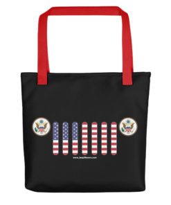Jeep USA Seal Grill Tote bag