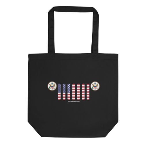 Jeep USA Seal Grill Eco Tote Bag