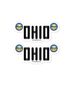 Jeep Ohio Seal Grill stickers