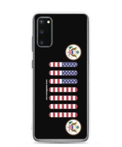 Jeep USA Seal Grill Samsung Case