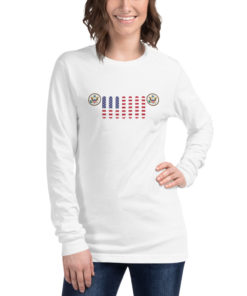 Jeep USA Seal Grill Unisex Long Sleeve Tee