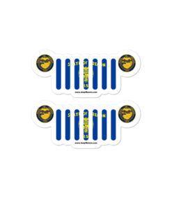 Jeep Oregon Stickers