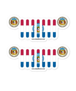 Jeep Missouri Stickers
