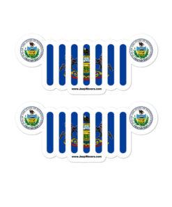 Jeep Pennsylvania Stickers
