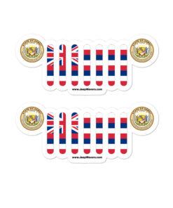Jeep Hawaii Stickers