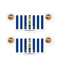 Jeep Kansas Stickers