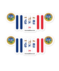 Jeep Iowa Stickers