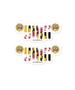 Jeep Maryland Stickers