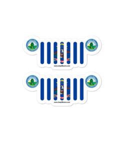 Jeep North Dakota Stickers