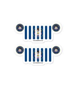 Jeep Utah Stickers