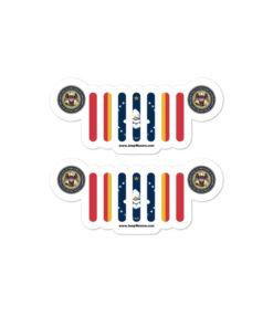 Jeep Mississippi Stickers