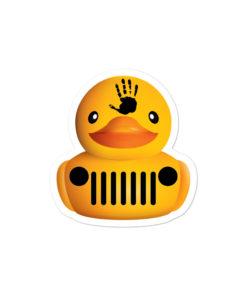 DuckDuckJeep Wave Bubble-free stickers Stickers DuckDuckJeep