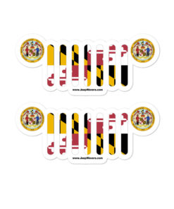 Jeep Maryland Stickers