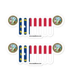 Jeep North Carolina Stickers