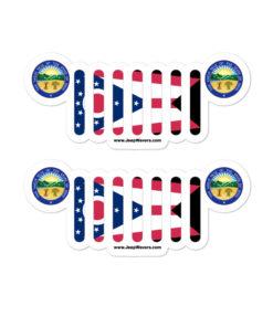 Jeep Ohio Stickers