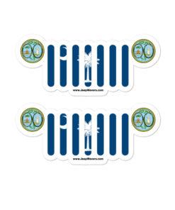 Jeep South Carolina Stickers