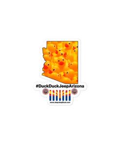 #DuckDuckJeep Arizona Bubble-free stickers Stickers Arizona