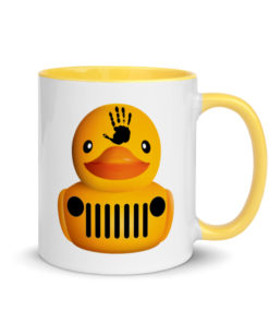 DuckDuckJeep Wave Mug with Color Inside Mugs DuckDuckJeep