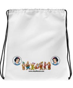 Snow White & 7 Dwarfs Jeep Grille Drawstring bag Drawstring Snow White