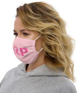 Jeep Breast Cancer Logo 2 Premium face mask Face Masks Breast Cancer