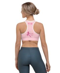 Jeep Breast Cancer Logo Sports bra Sports Bra Breast Cancer