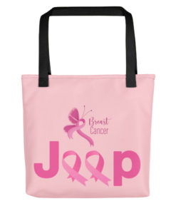 Jeep Breast Cancer Logo 2 Tote bag Tote Breast Cancer
