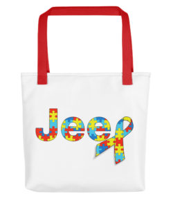 Autism Awareness Jeep Logo Tote bag Tote Autism Awareness