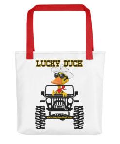 Lucky Duck Jeep Tote bag Tote DuckDuckJeep