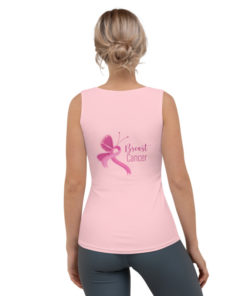 Jeep Breast Cancer Logo Sublimation Cut & Sew Tank Top Tanks Breast Cancer