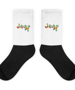 Autism Awareness Jeep Logo Socks Socks Autism Awareness