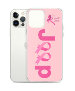 Jeep Breast Cancer Logo 2 iPhone Case iPhone Cases Breast Cancer