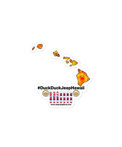#DuckDuckJeep Hawaii Bubble-free stickers Stickers DuckDuckJeep