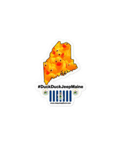 #DuckDuckJeep Maine Bubble-free stickers Stickers DuckDuckJeep