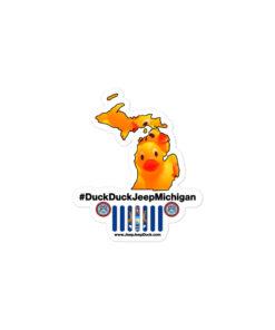 #DuckDuckJeep Michigan Bubble-free stickers Stickers DuckDuckJeep