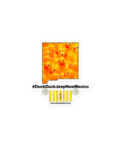 #DuckDuckJeep New Mexico Bubble-free stickers Stickers DuckDuckJeep