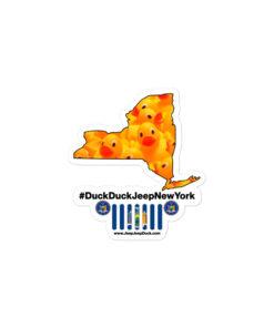 #DuckDuckJeep New York Bubble-free stickers Stickers DuckDuckJeep