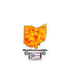 #DuckDuckJeep Ohio Bubble-free stickers Stickers DuckDuckJeep