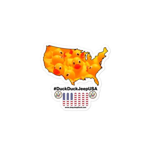 #DuckDuckJeep USA Bubble-free stickers Stickers DuckDuckJeep