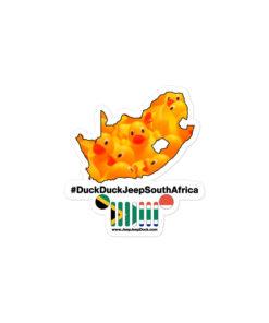 #DuckDuckJeep South Africa Bubble-free stickers Stickers DuckDuckJeep