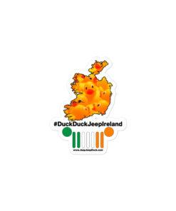 #DuckDuckJeep Ireland Bubble-free stickers Stickers DuckDuckJeep