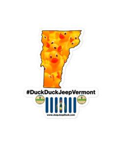 #DuckDuckJeep Vermont Bubble-free stickers Stickers DuckDuckJeep
