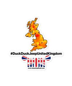 #DuckDuckJeep United Kingdom Bubble-free stickers Stickers DuckDuckJeep