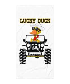 Lucky Duck Jeep Towel Towels DuckDuckJeep