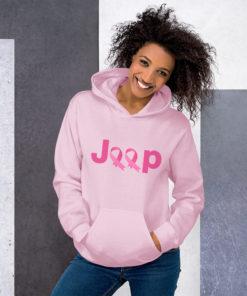 Jeep Breast Cancer Logo Unisex Hoodie Hoodies Breast Cancer