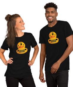 DuckDuckJeep Wave Short-Sleeve Unisex T-Shirt T-Shirts DuckDuckJeep