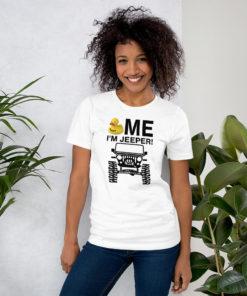 Duck Me I'm Jeeper! Short-Sleeve Unisex T-Shirt T-Shirts DuckDuckJeep