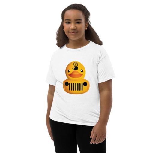 DuckDuckJeep Wave Youth Short Sleeve T-Shirt T-Shirts DuckDuckJeep