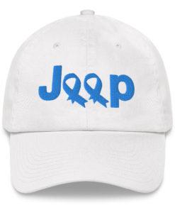 Jeep Trisomy 18 Awareness Logo Dad hat Caps Trisomy 18