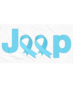 Jeep Trisomy 18 Awareness Logo Towel Towels Trisomy 18