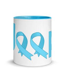 Jeep Trisomy 18 Awareness Logo Mug with Color Inside Mugs Trisomy 18